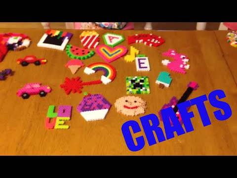 PERLER BEAD CRAFT CREATIONS HOMEMADE AND CRAFTY