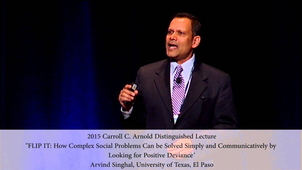 Carroll C  Arnold Distinguished Lecture   National