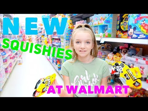 NEW SQUISHIES AT WALMART | Bryleigh Anne
