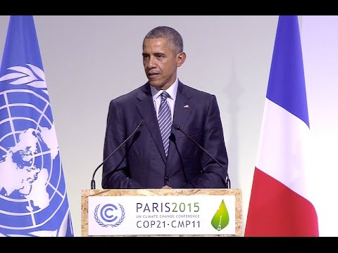 The President Addresses Climate Change at COP21