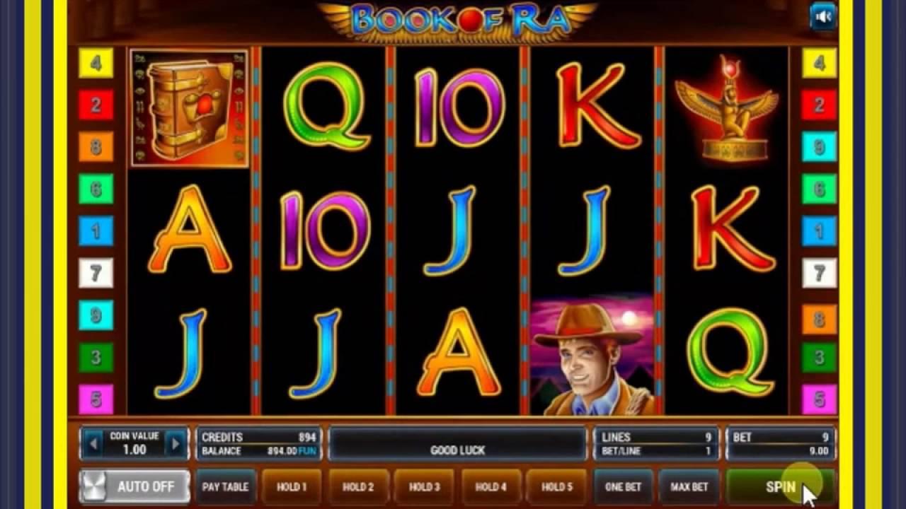 Казино Вулкан Игровые Автоматы Онлайн Азартные Игры от Клуба Вулкан Удачи   Игровой Автомат Book of Ra (Книжки)
