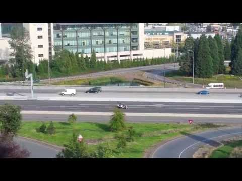 Motorcade of Chinese President Xi Jinping in Seattle