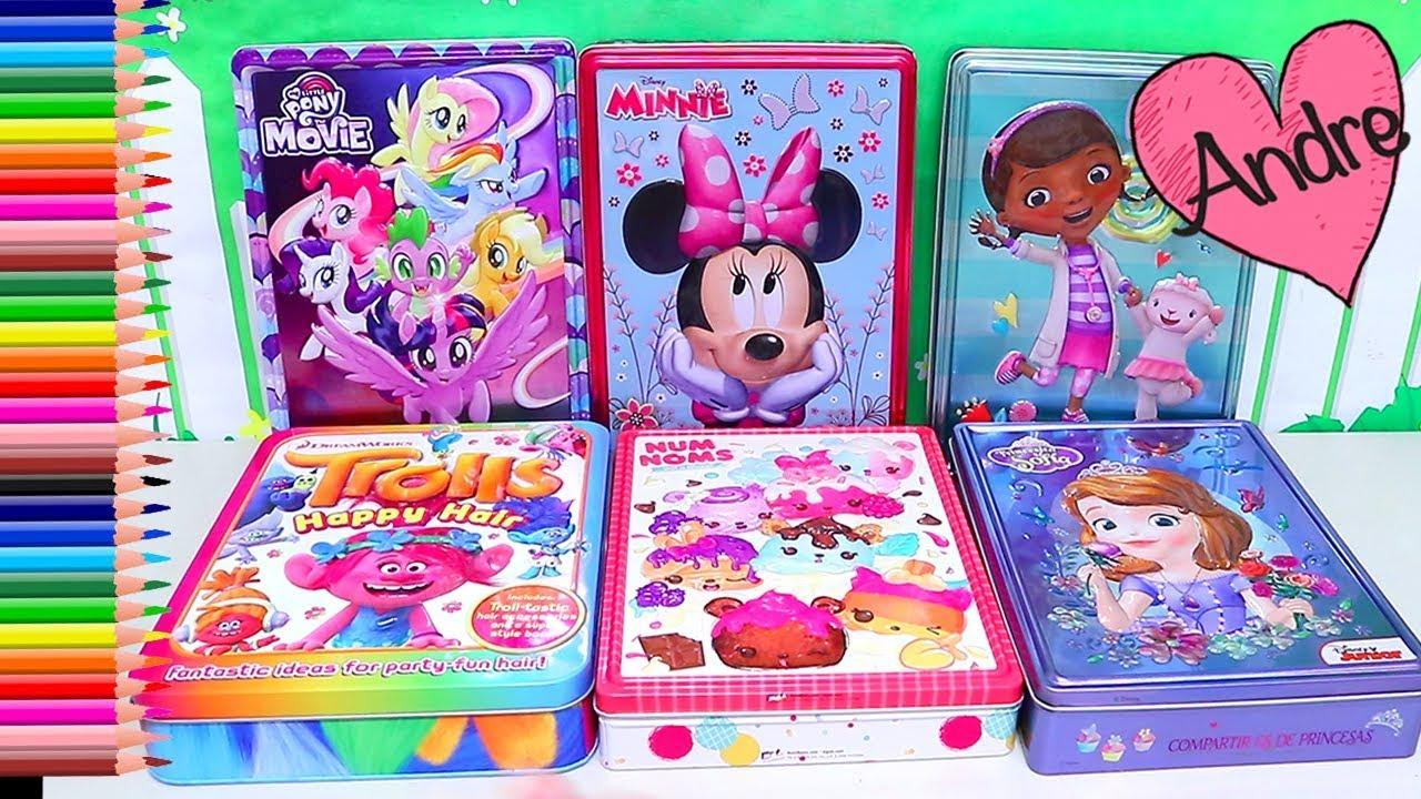 Dibujos Para Colorear Para Niñas Y Niños De Trolls Minnie Princesa Sofia Doctora Juguetes Y Mas