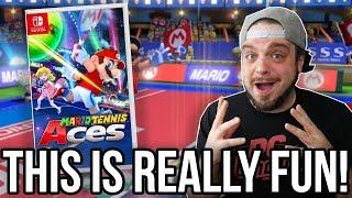 Mario Tennis Aces for Nintendo Switch - Surprisingly Good? | RGT 85