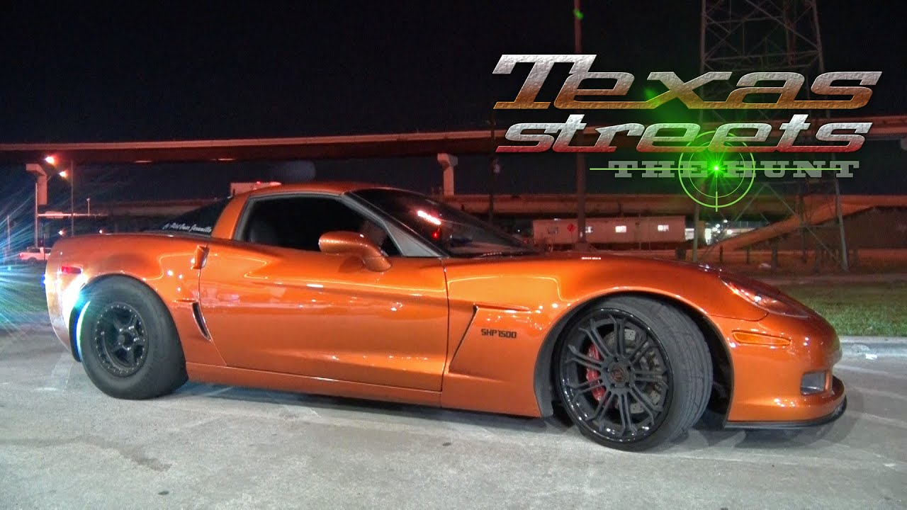 1400hp H8R MAKER Corvette vs The TEXAS STREETS - YouTube