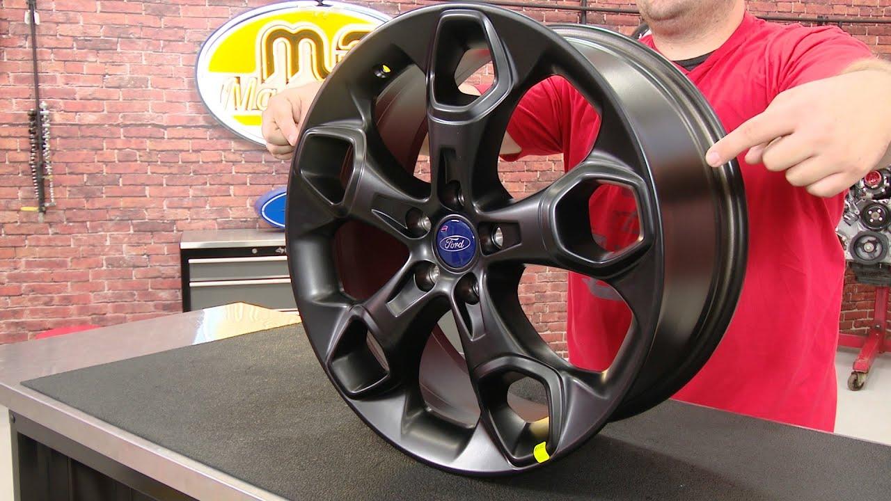 "Focus Ford Performance Focus ST Wheel 19""x8"" Matte Black"