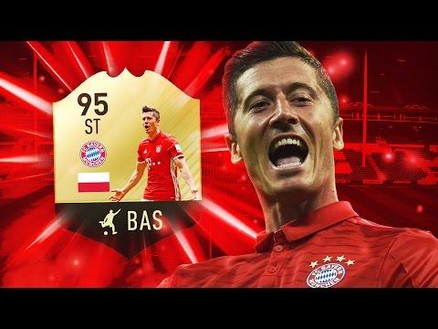 FIFA 17 NEW FIF LEWANDOWSKI 95 - BEST STRIKER IN FIFA 17 ULTIMATE TEAM?