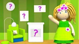 Мультики для малышей Домик куклы Бьянки - Учим предметы