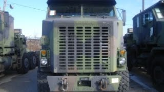 1994 Oshkosh M1070 Commercial Heavy Equipment Transporter (HET) on GovLiquidation.com