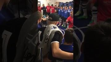 Kabinenansprache - Arminia Bielefeld - Eintracht Braunschweig