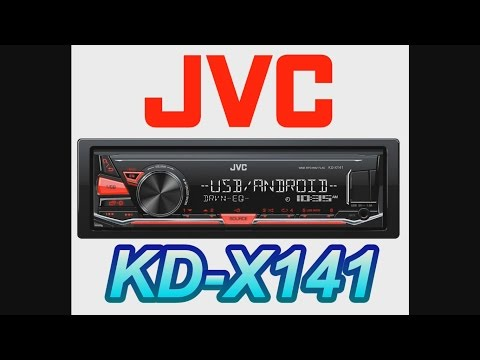 JVC KENWOOD KD X241 KD X141 unboxing box opening review car install android ipod iphone - Смешные видео приколы