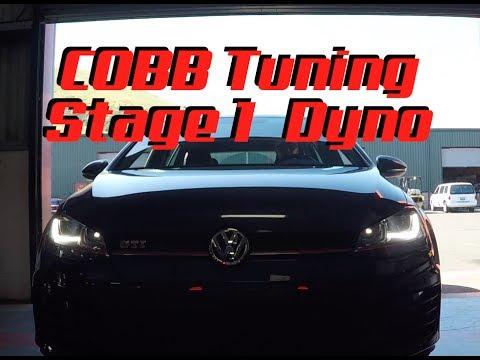 VW MK7 COBB Tuning Stage 1 Dyno