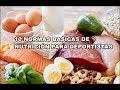 10 NORMAS BASICAS DE NUTRICIÓN PARA DEPORTISTAS