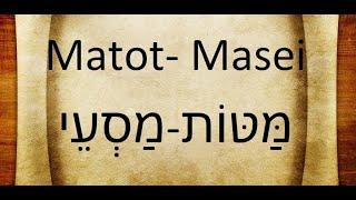Parashat Mottot-Masei 5780 (7/18/20)