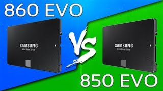samsung SSD 850 EVO vs 850 PRO - Tech comparison
