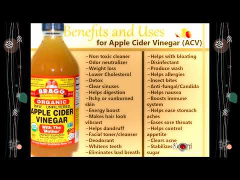 🍎 Apple Cider Vinegar Best  Home Remedies and Uses #ACV