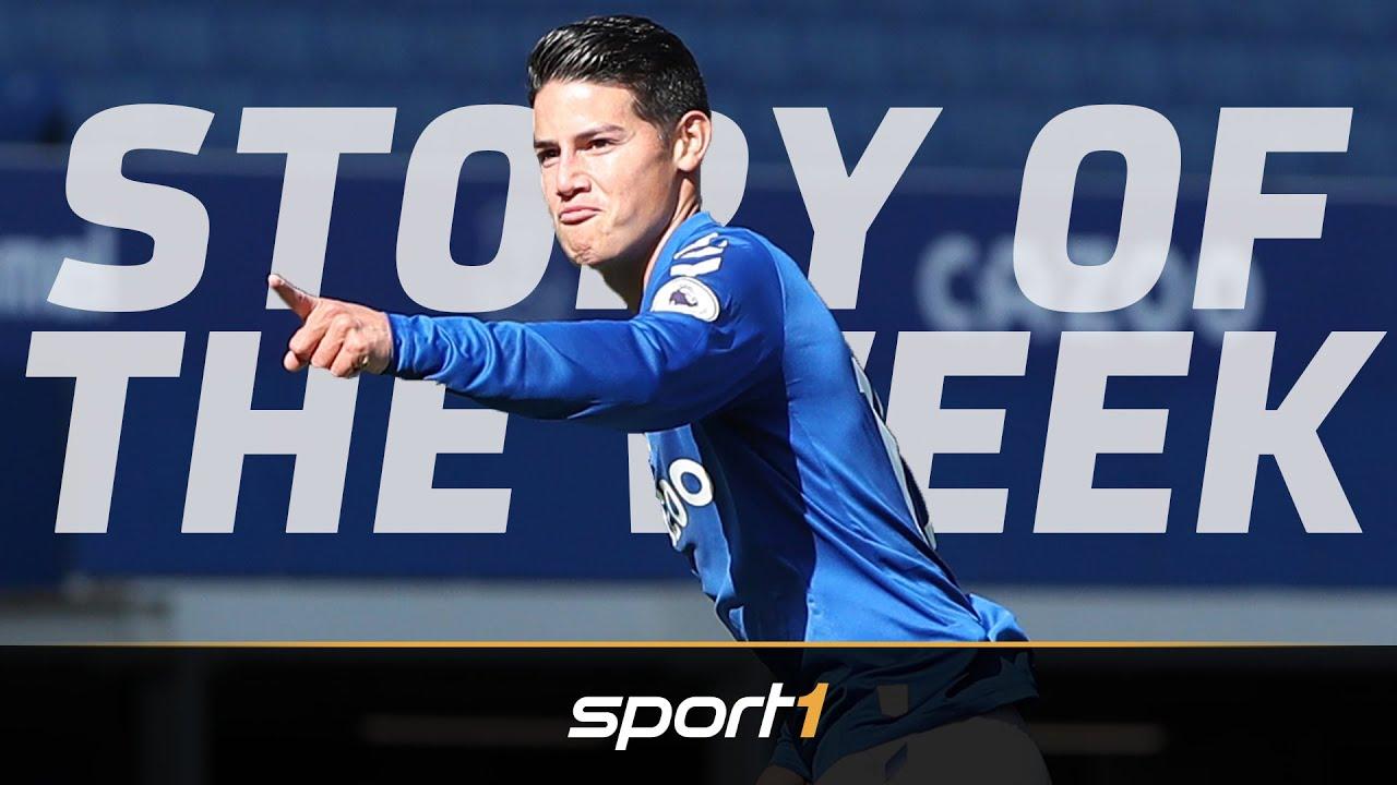 Everton mit James und Ancelotti ein Champions-League-Kandidat? | SPORT1 - SOTW