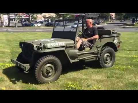 1943 WW2 Ford GPW Jeep with Matching Serial Numbers- Fully Restored