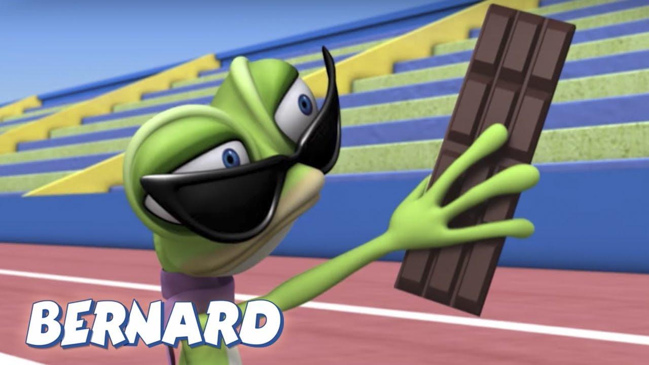 Bernard Bear   Race Walking AND MORE   Cartoons for Children