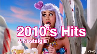 2010's Music Nostalgia: Hits Of The Last Decade (2010-2019) [Full Playlist In Description]