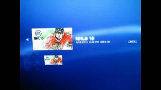 DCMG | NHL 10 : How To Get Legend Card Glitch PS3