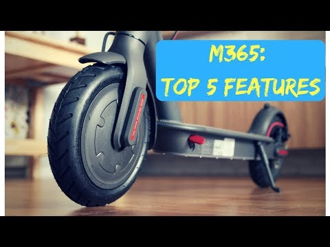 Xiaomi Mijia M365 Electric Scooter Top 5 Features
