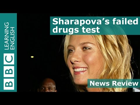 BBC News Review: Sharapova's failed drugs test