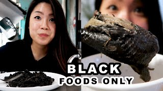Download I Only Ate Black Foods For 24 Hours Mp3 and Videos
