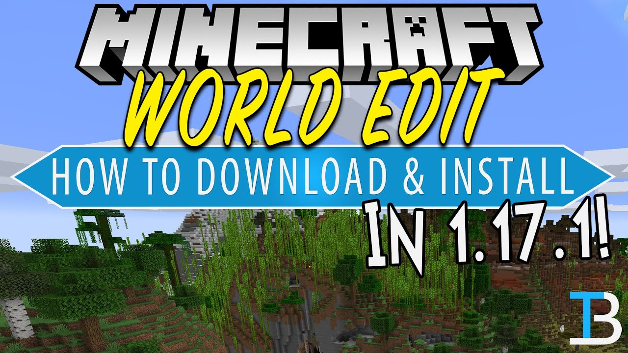 How To Download & Install World Edit in Minecraft 5.57.5