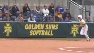 Arkansas Tech Softball vs. Southern Arkansas (04/21/18) - Highlights