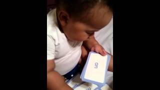 My 19 month old baby can read. Full video