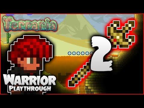 ⚔️ Pyramids, Exploration & The Ambush! | Terraria 1.3.5 Let's Play | Warrior Playthrough [Episode 2]
