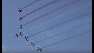 ★★フランス空軍曲技チーム「パトルイユ・ド・フランス 」2016