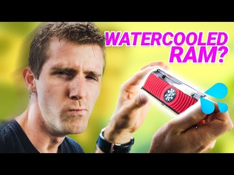 Liquid Cooled Memory is FASTER - $#!T Manufacturers Say