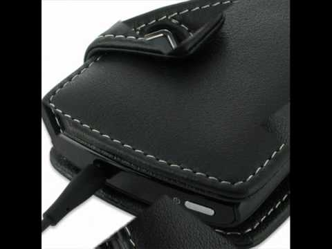 PDair Leather Case for Acer Allegro M310 - Book Type (Black)