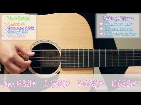 """""""FRIENDS"""" - Marshmello & Anne-Marie EASY Guitar Tutorial/Chords (No Capo!)"""
