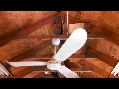 Envirofan Orange Line 60 F-9 Industrial/Commercial Ceiling Fans