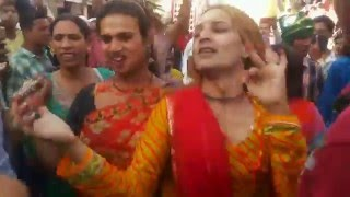Indian Hijra KinnersTransgender Third gender dance in Ajmer Dargah Sharif Urs- Khwaja Garib Nawaz