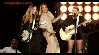 Beyonce Daddy Lessons featuring the Dixie Chicks Lyrics