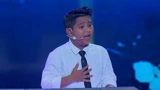 Mashaallah Hazury buat juri speechless | Berita Kepada Kawan | Ceria i-Star 2017 Konsert 5