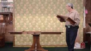 Barn Furniture - Amish Mission Dining Tables 36x36 36x48 36x60
