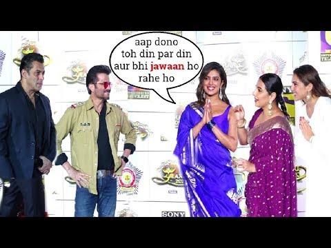 Anil Kapoor & Salman Khan's GRAND WELCOME By Priyanka Chopra - Sara Ali Khan @UMANG Police Show 2020