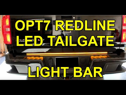 """[HOW TO] Install OPT7 Redline Triple LED Tailgate Light Bar (48"""" – Chevy Colorado)"""