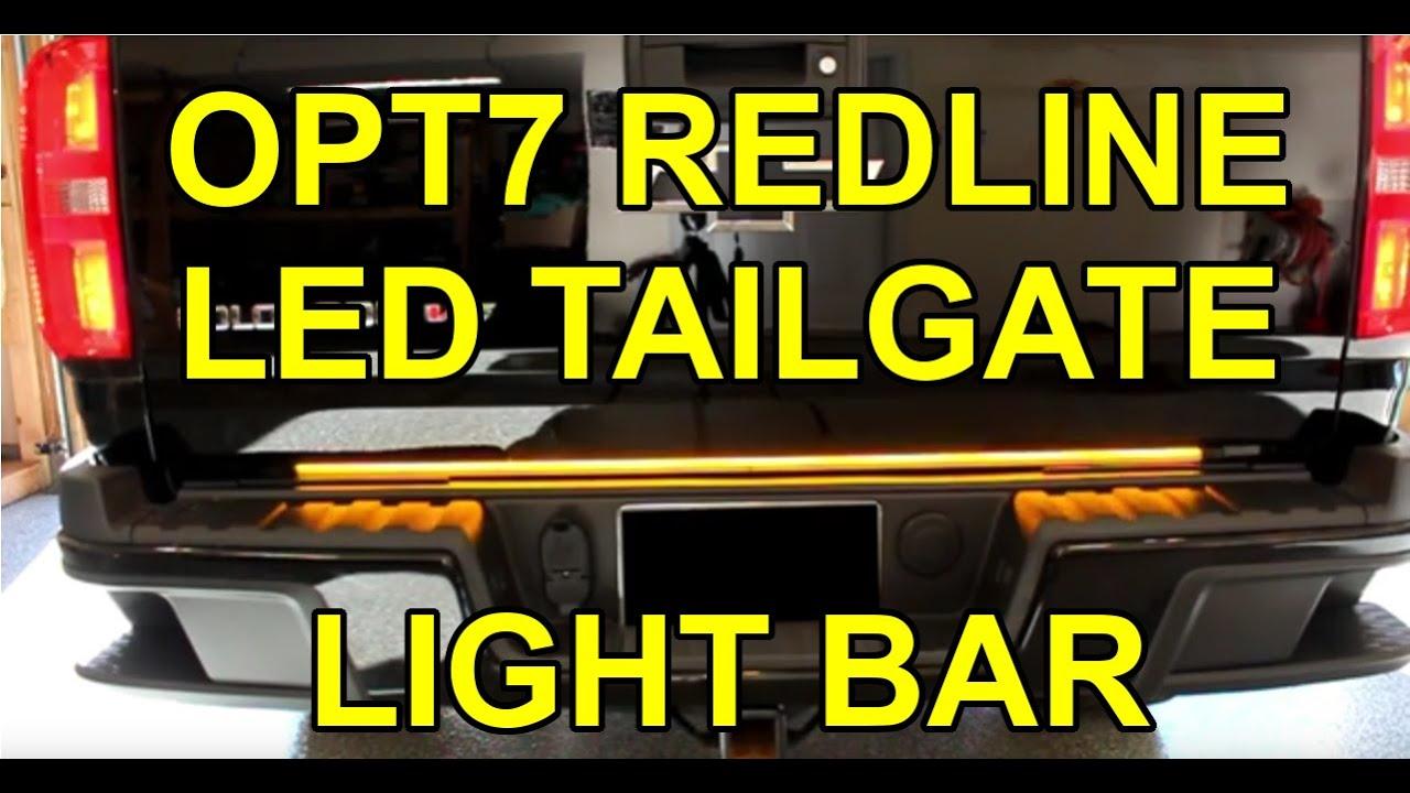 How To Install Opt7 Redline Triple Led Tailgate Light
