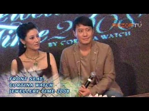 Front Seat at Michelle Reis & Leon Lai Press Conference and Cortina Watch show (Pt 1)