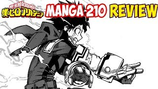 My Hero Academia Manga 210 - Dreams Of One For All Review