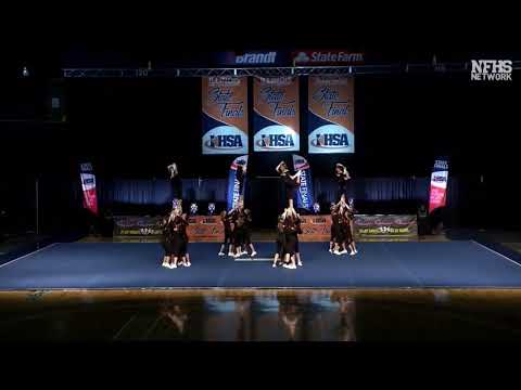 Lincoln Way West Varsity Cheer - 2019 State Finals