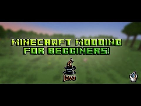 Minecraft Modding Beginners: Tutorial 6 Making Tools