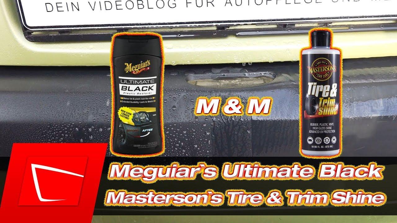 meguiar 39 s ultimate black masterson s tire trim shine. Black Bedroom Furniture Sets. Home Design Ideas