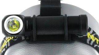 Відео огляд налобного ліхтаря багатофункціонального HC30 від ''Nitecore ''.